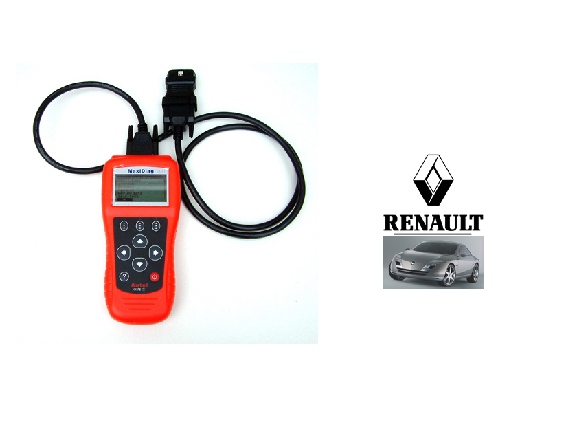 Add Renault cars to your Autel Maxidiag EU702, US703 or JP701